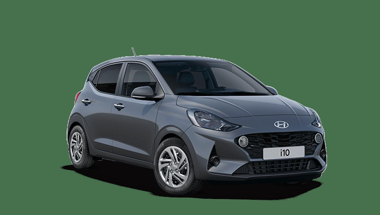 Stardust Grey Hyundai I10 New