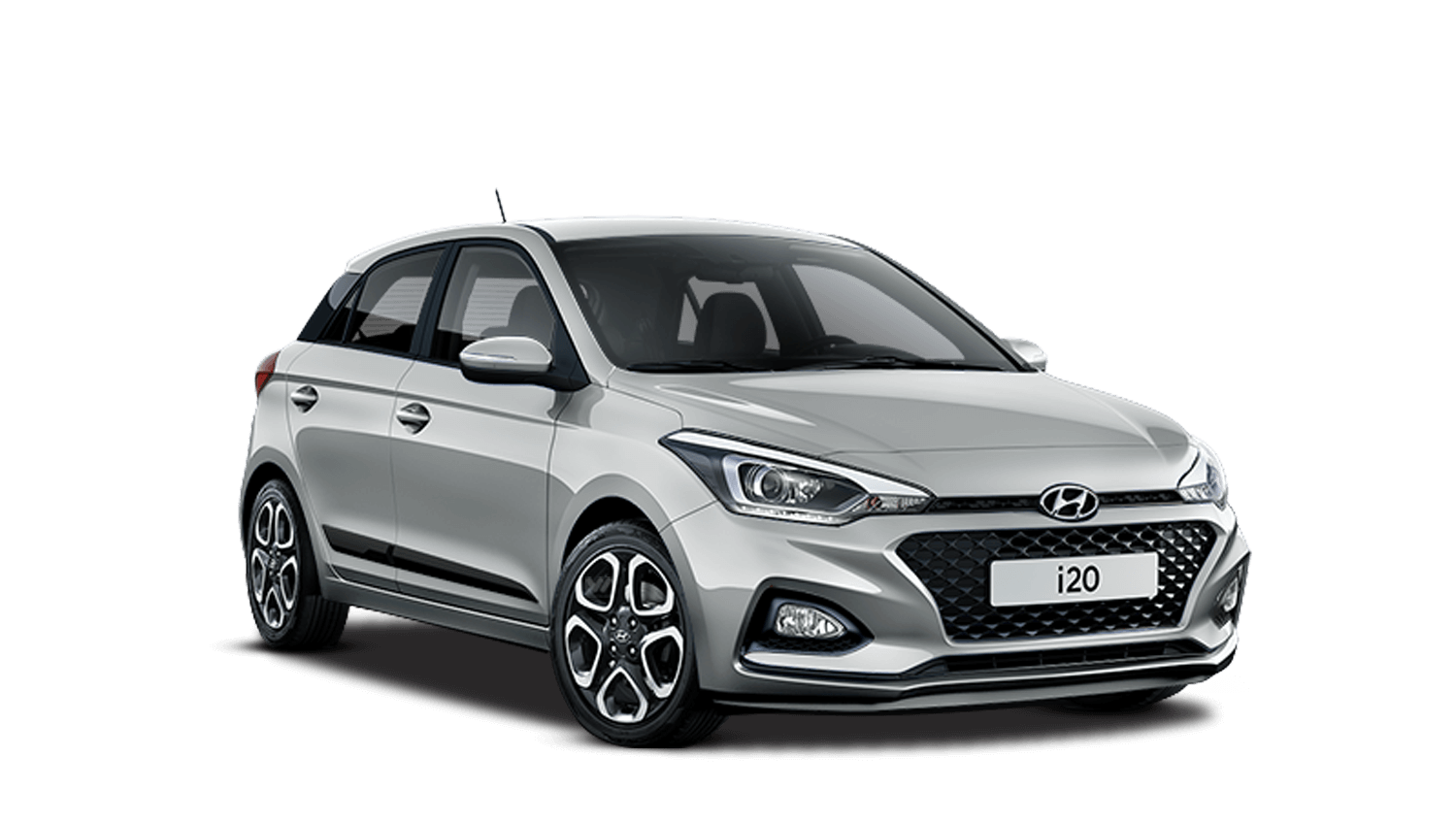 Sleek Silver Hyundai I20