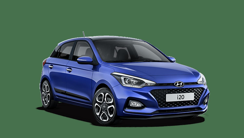 Champion Blue Hyundai i20