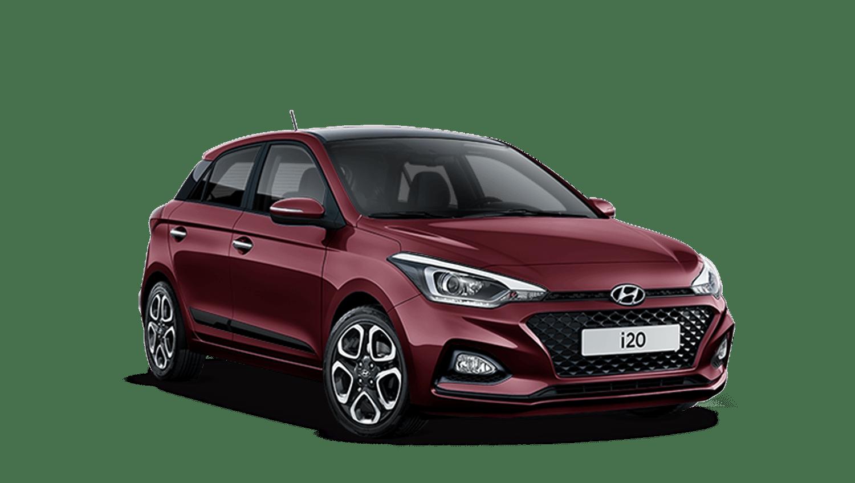 Passion Red Hyundai I20
