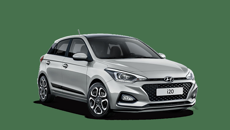 Sleek Silver Hyundai I20