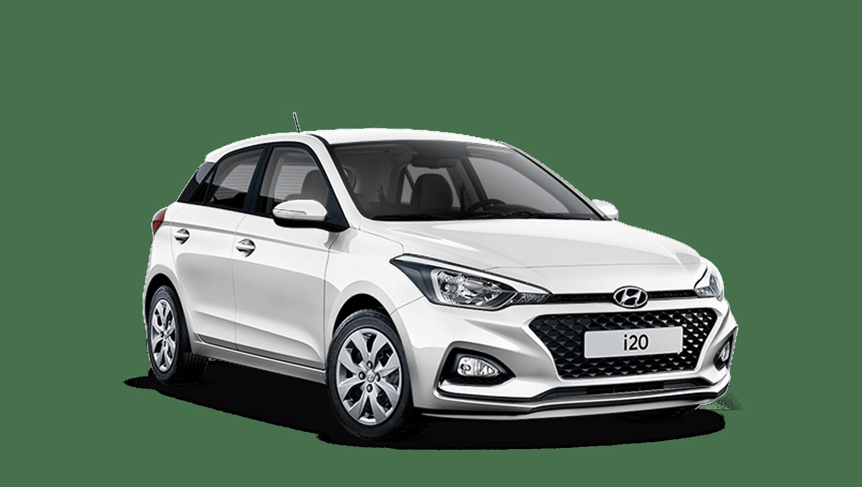 Polar White Hyundai i20