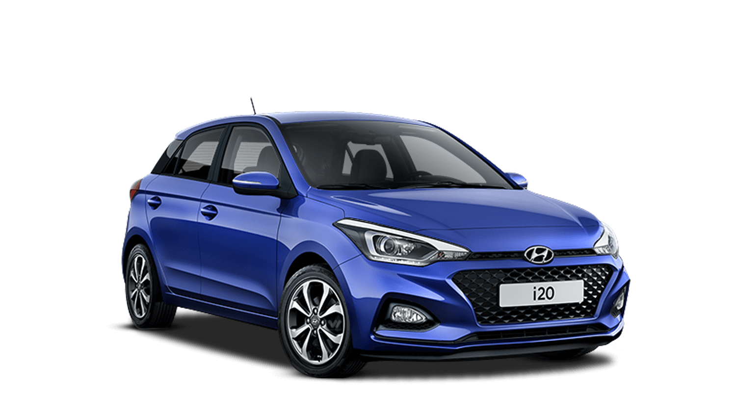 Champion Blue Hyundai i20