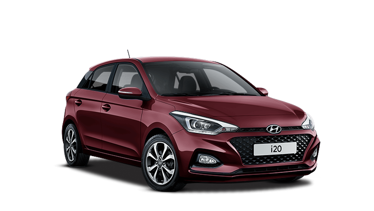 Passion Red Hyundai i20