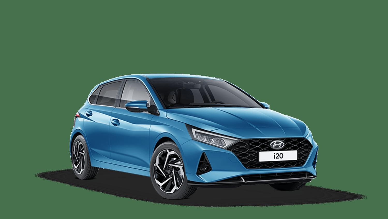 Aqua Turquoise Hyundai I20 New