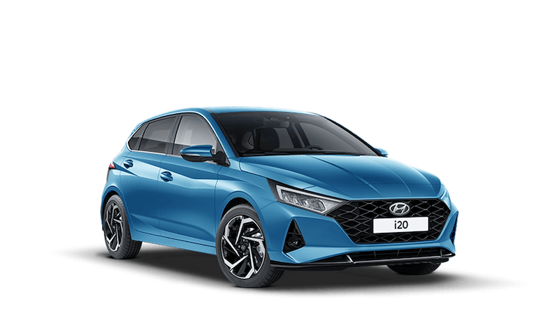 Aqua Turquoise All-new Hyundai i20