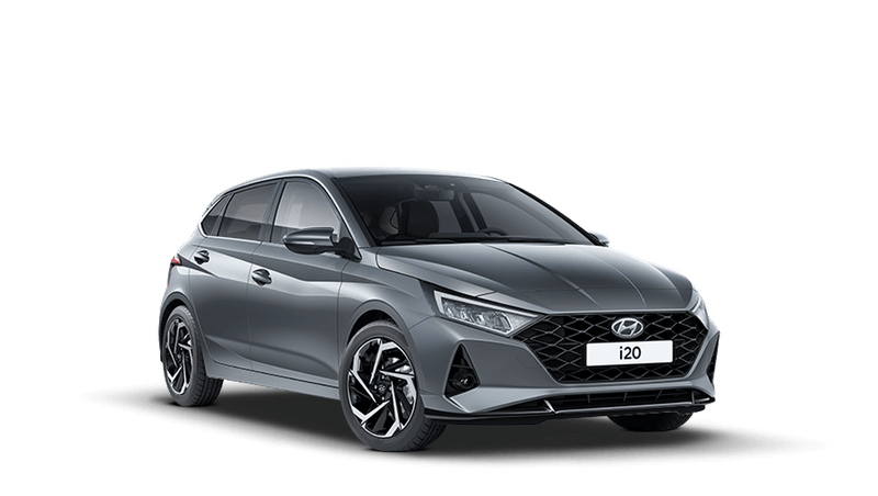 Aurora Grey All-new Hyundai i20