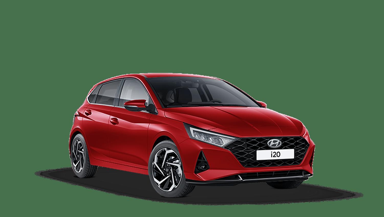 Dragon Red Hyundai I20 New