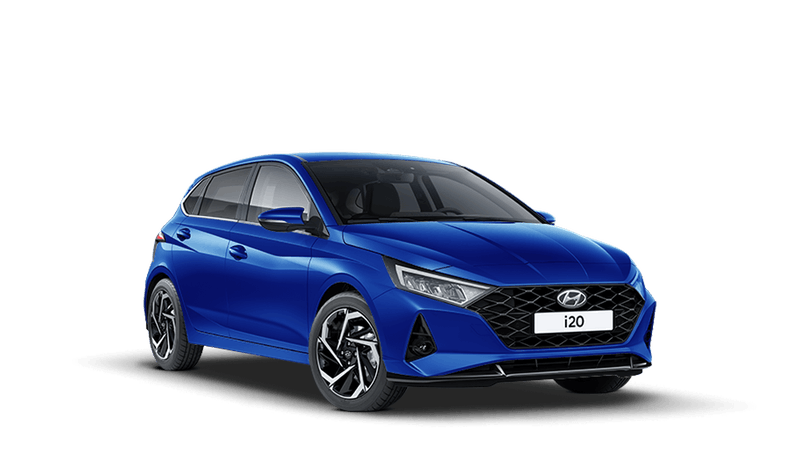 Intense Blue All-new Hyundai i20
