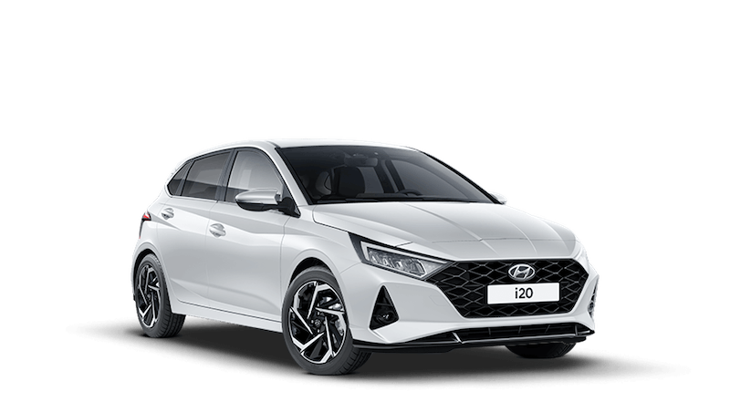 Polar White All-new Hyundai i20