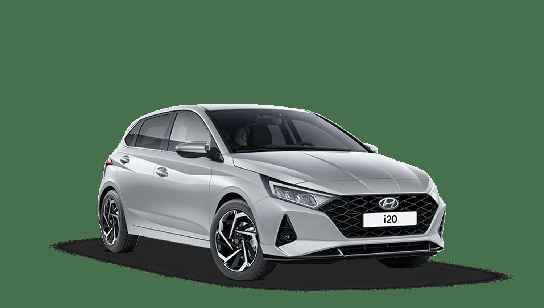 Sleek Silver Hyundai I20 New