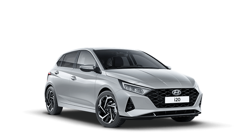 Sleek Silver All-new Hyundai i20