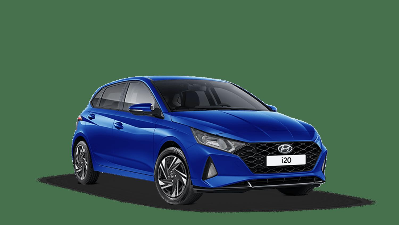 Intense Blue Hyundai I20 New
