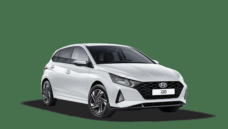 Polar White Hyundai I20 New