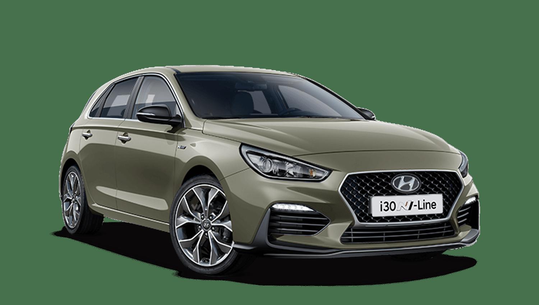 Olivine Grey Hyundai I30
