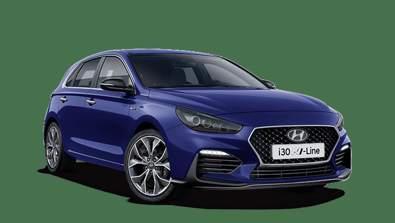 Stellar Blue Hyundai I30