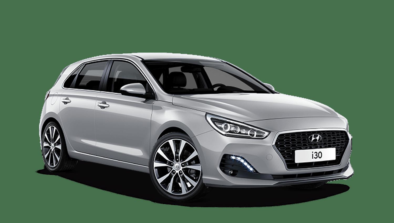 Platinum Silver Hyundai I30