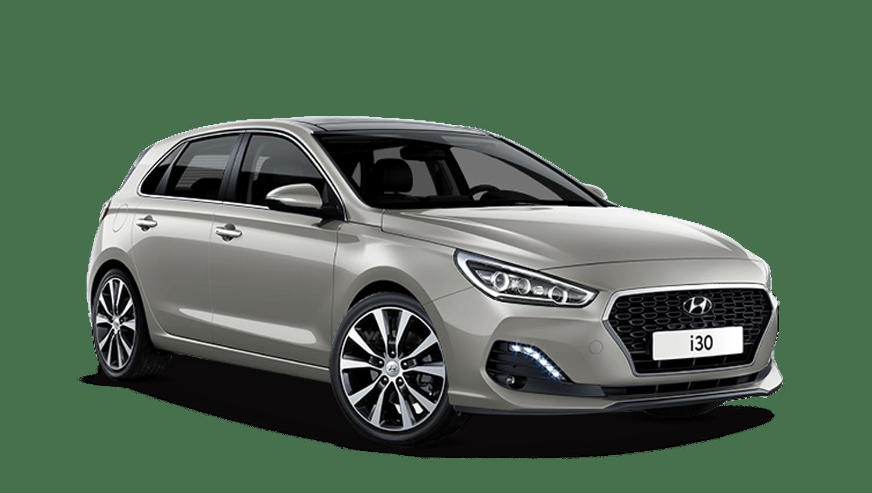 White Sand Hyundai I30