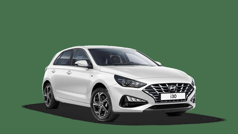 Polar White Hyundai I30