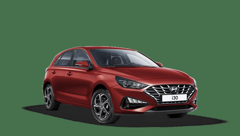 Sunset Red Hyundai I30