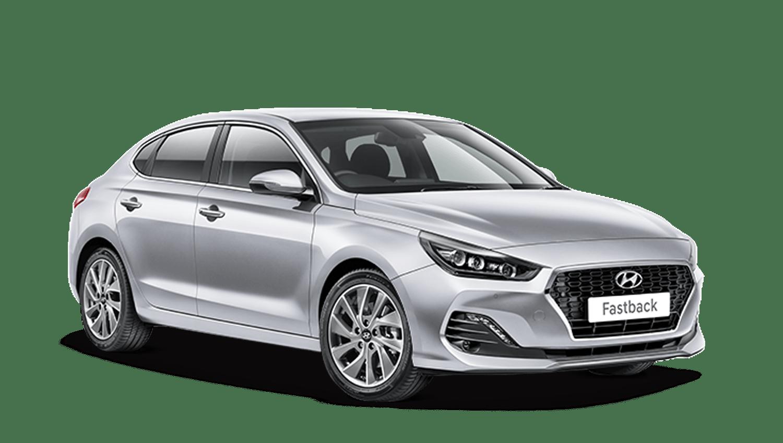 Platinum Silver Hyundai I30 Fastback