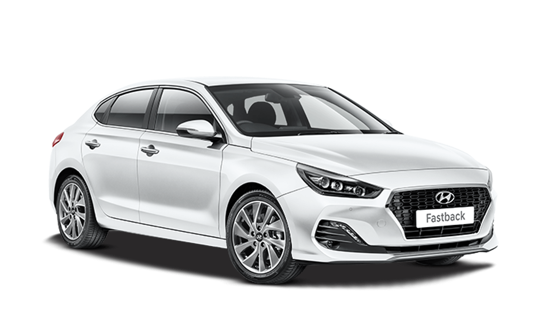 Polar White Hyundai I30 Fastback