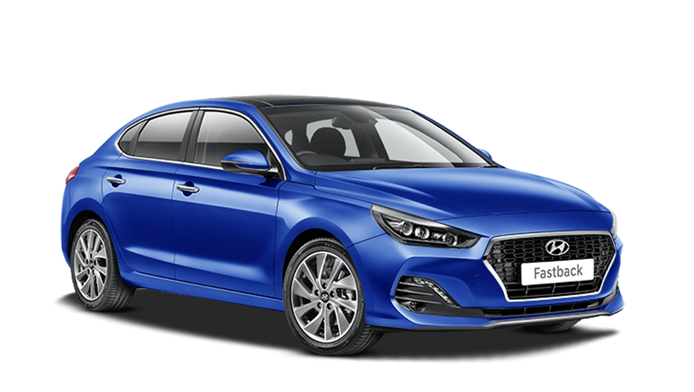 Champion Blue Hyundai I30 Fastback