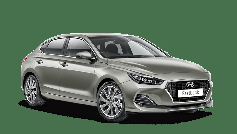White Sand Hyundai I30 Fastback