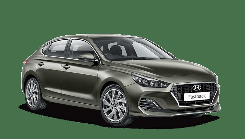 Olivine Grey Hyundai I30 Fastback