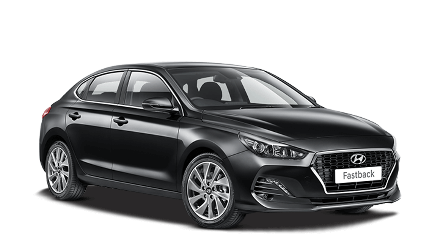 Phantom Black Hyundai I30 Fastback