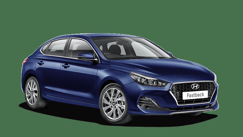 Stellar Blue Hyundai I30 Fastback