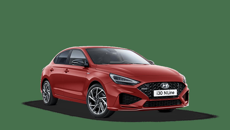 Engine Red Hyundai I30 Fastback