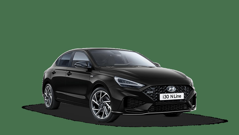 Phantom Black Hyundai I30 Fastback