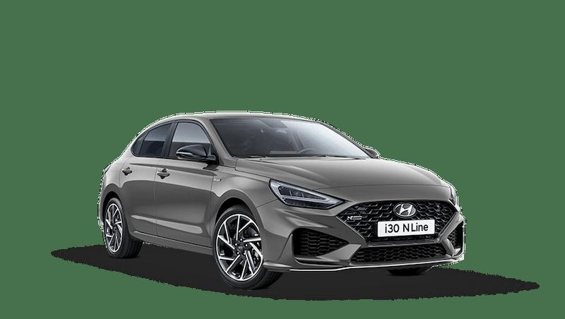 Shadow Grey Hyundai i30 Fastback