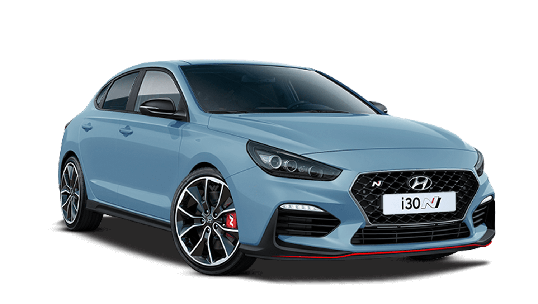 Performance Blue Hyundai I30 Fastback N