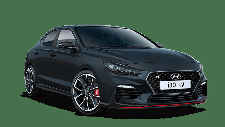 Phantom Black Hyundai I30 Fastback N