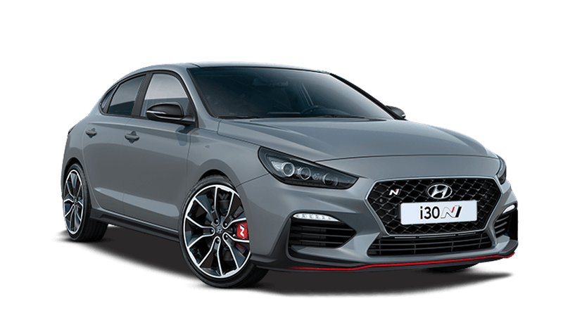 Shadow Grey Hyundai i30 Fastback N