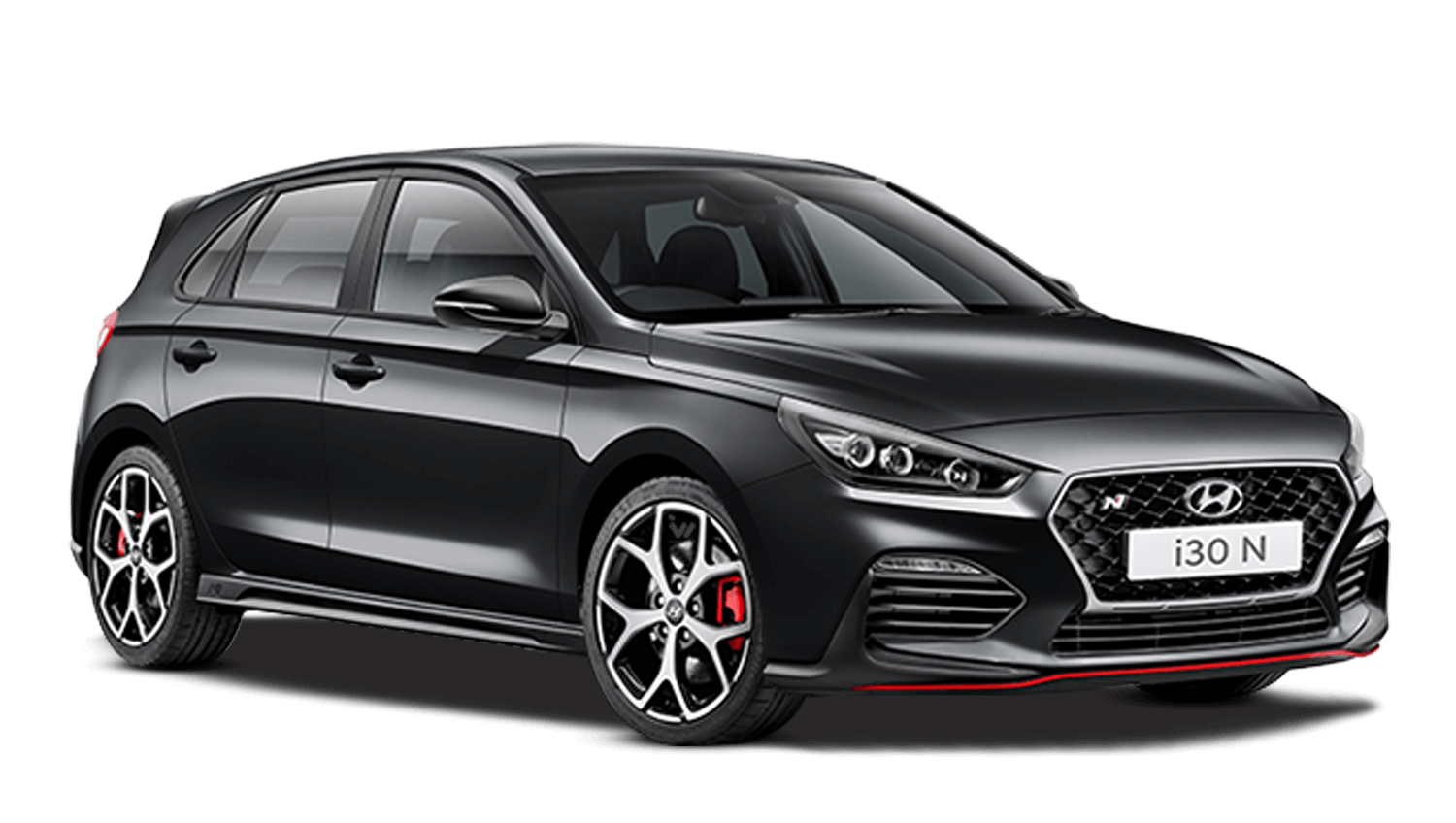 Phantom Black Hyundai I30 N