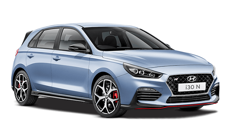 Performance Blue Hyundai i30 N