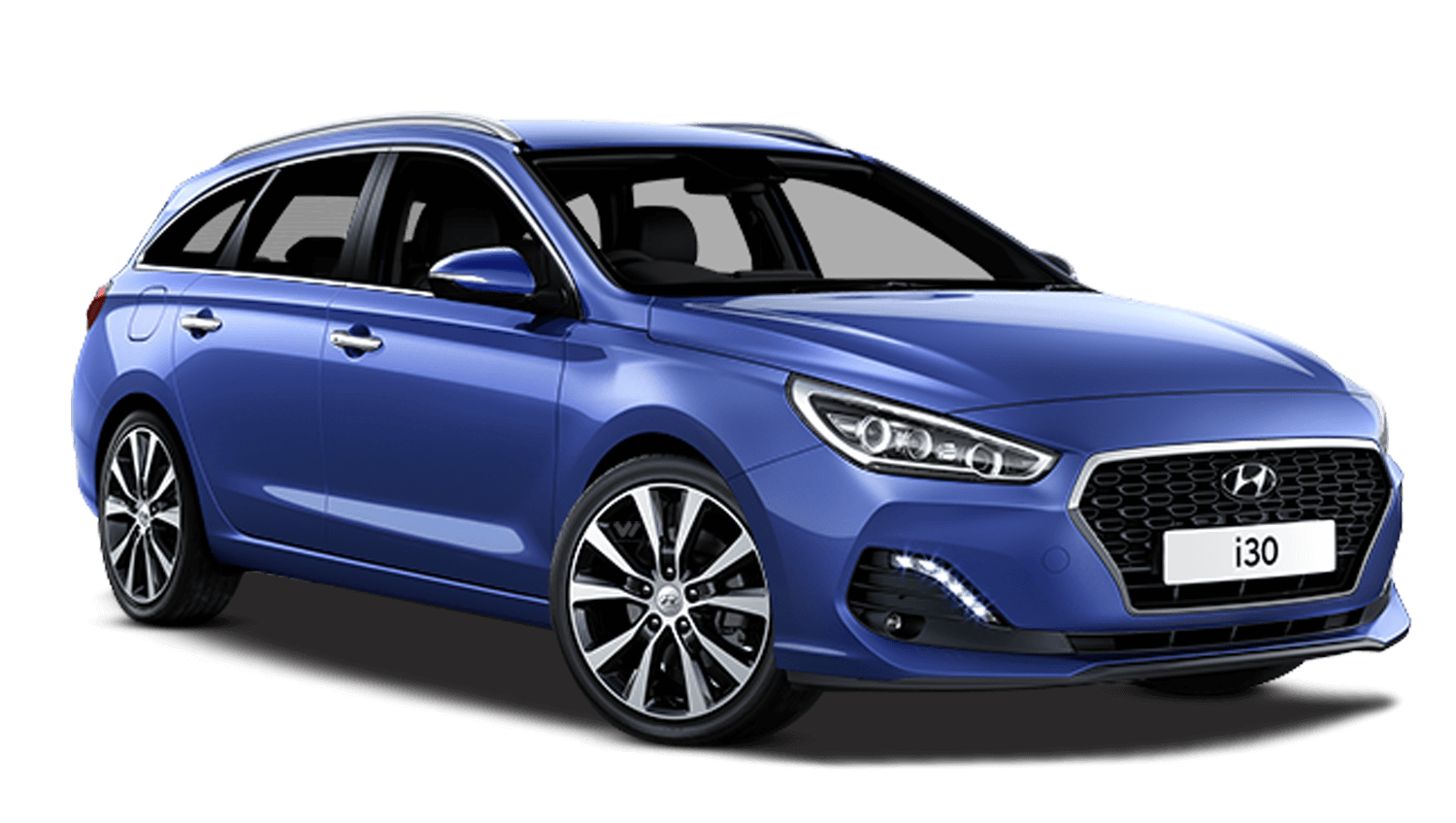 Champion Blue Hyundai I30 Tourer