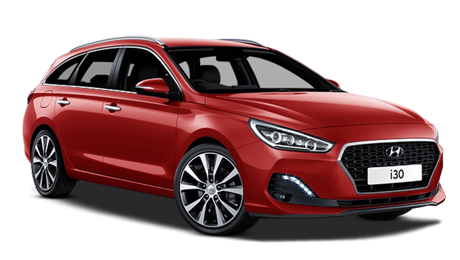 Engine Red Hyundai I30 Tourer