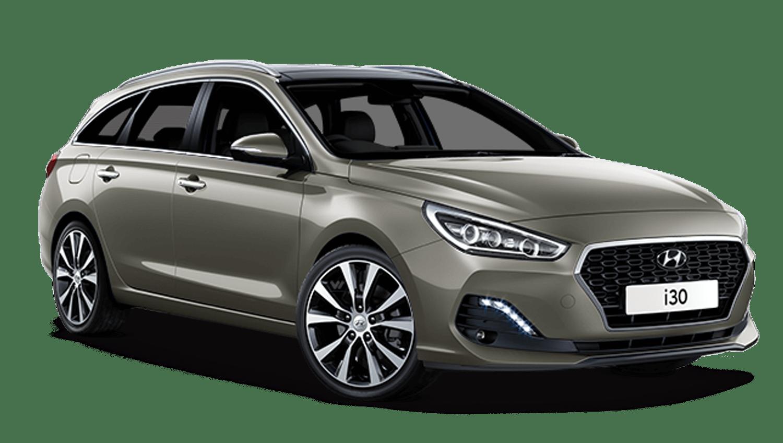 Olivine Grey Hyundai I30 Tourer