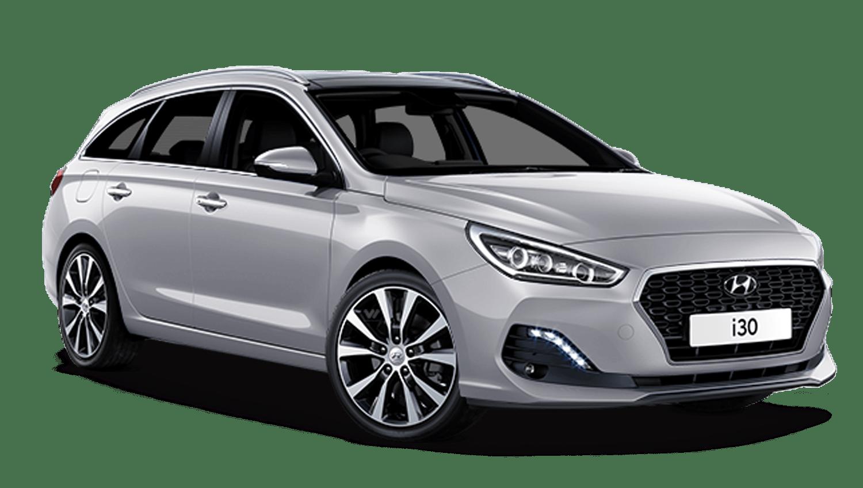 Platinum Silver Hyundai I30 Tourer