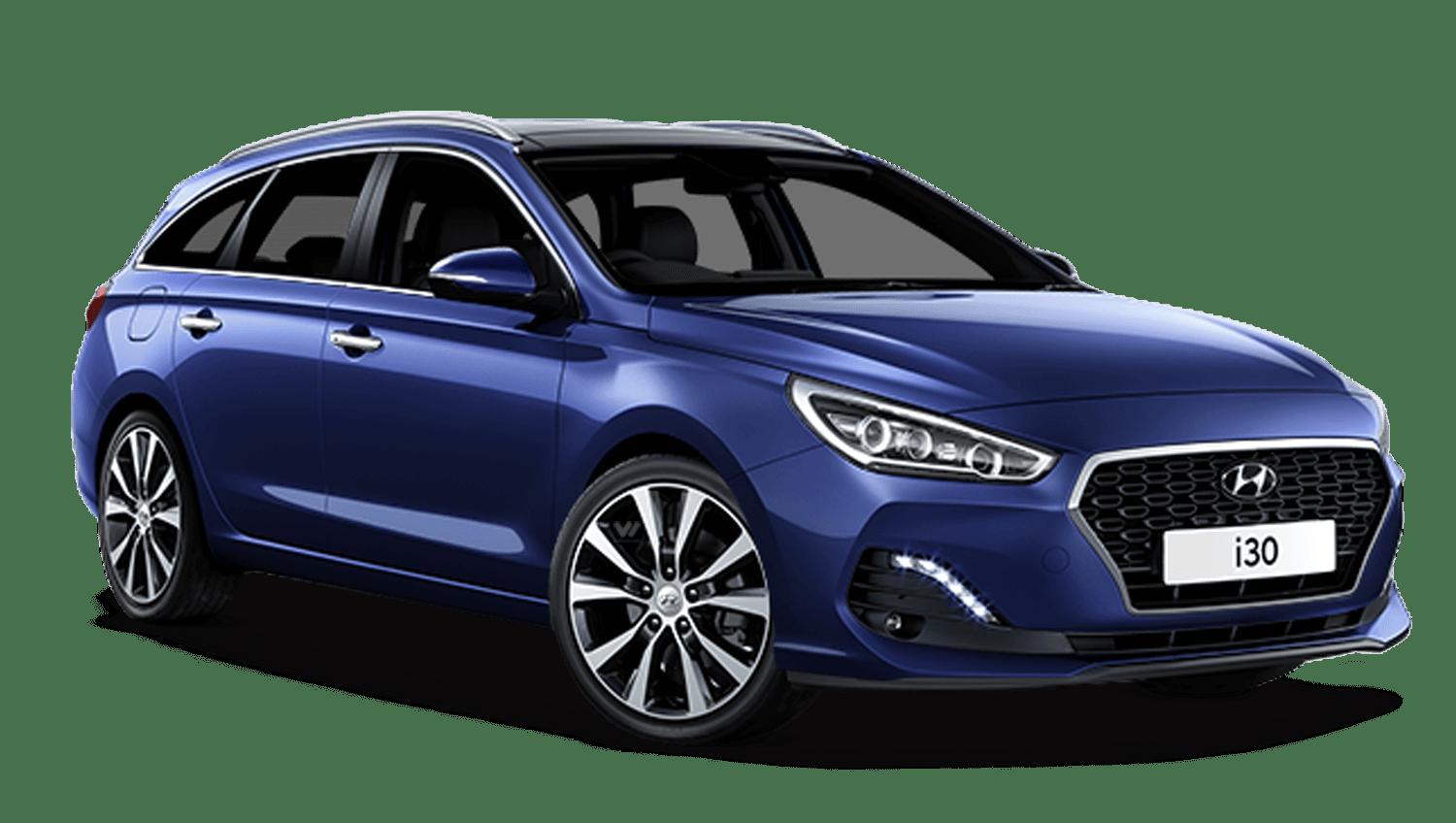 Stellar Blue Hyundai I30 Tourer