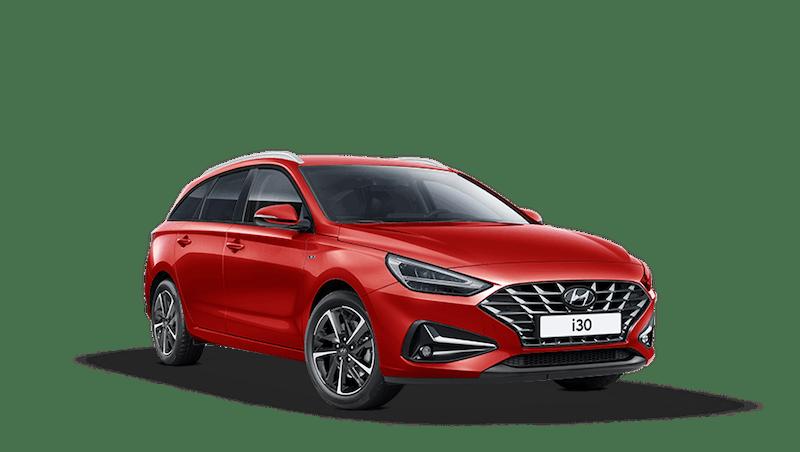 Engine Red Hyundai i30 Tourer