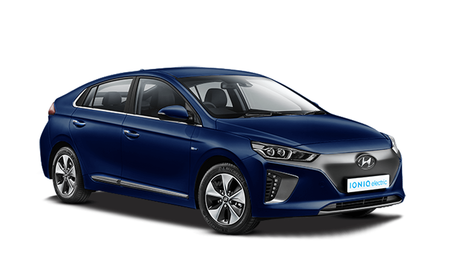 Intense Blue Hyundai Ioniq Electric