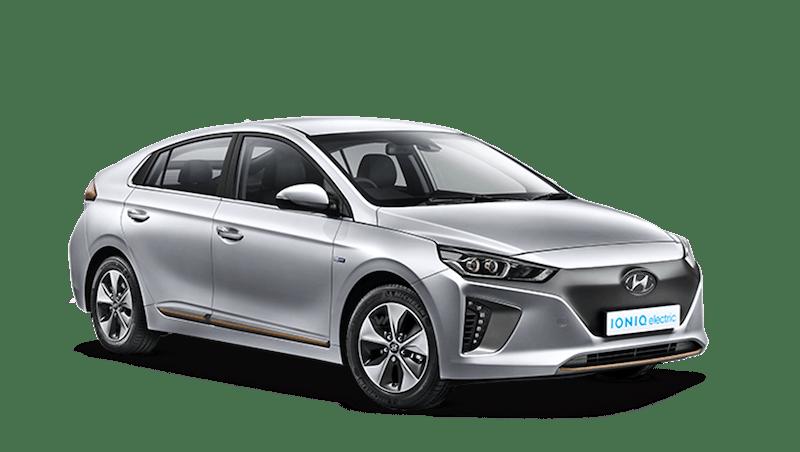 Platinum Silver Hyundai IONIQ Electric