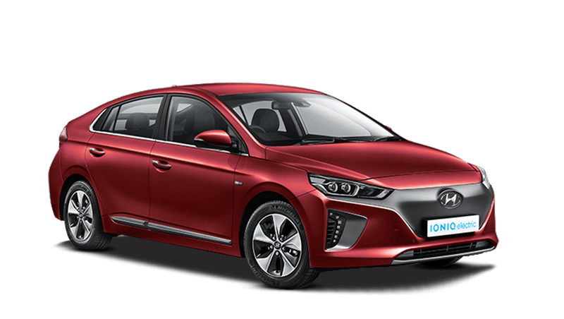 Fiery Red Hyundai IONIQ Electric