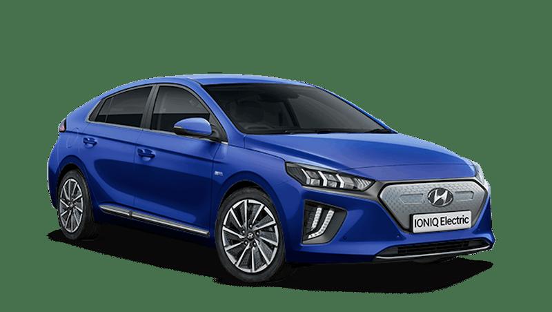 Intense Blue Hyundai IONIQ Electric