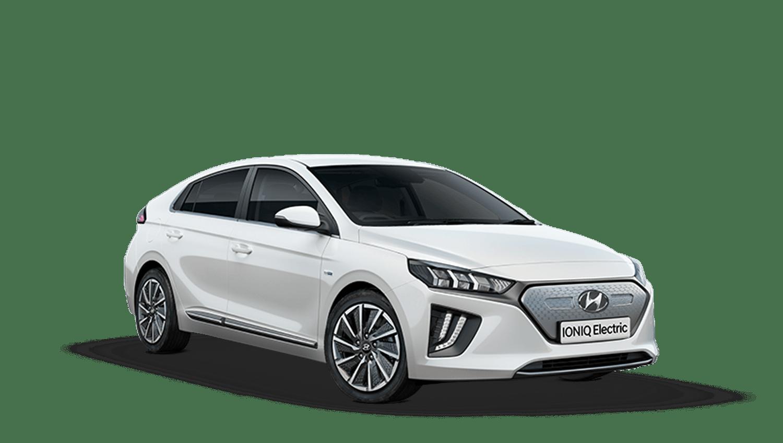 Polar White Hyundai IONIQ Electric